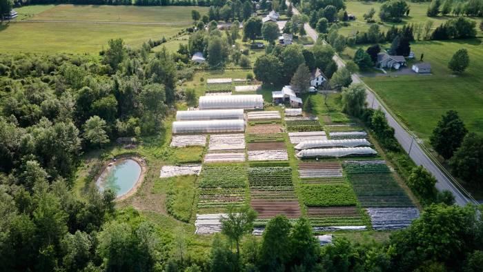 Avoir un bon drainage de sa terre agricole est essentiel. / Crédit: Alex Chabot