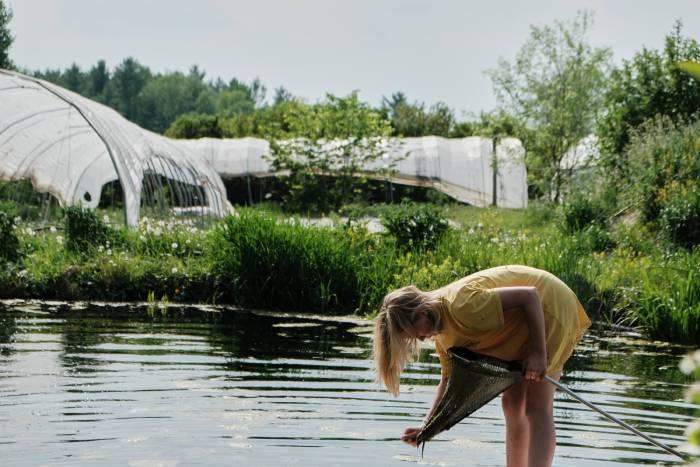 Vous aurez besoin d'une bonne source d'eau pour produire vos légumes. / Crédit: Alex Chabot